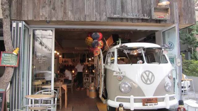 Hoho Myoll Cafe。