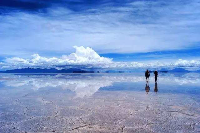 玻 利 維 亞 烏 尤 尼 鹽 沼