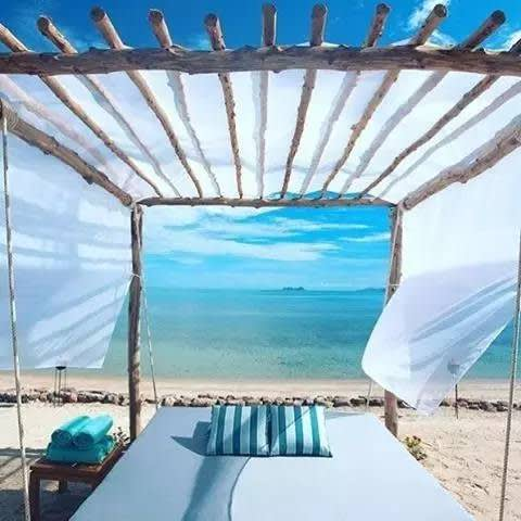 蘇美島必玩景點  在 海 灘 享 用 日 光 浴 與 海 風 吹 拂 , 此 生 無 憾