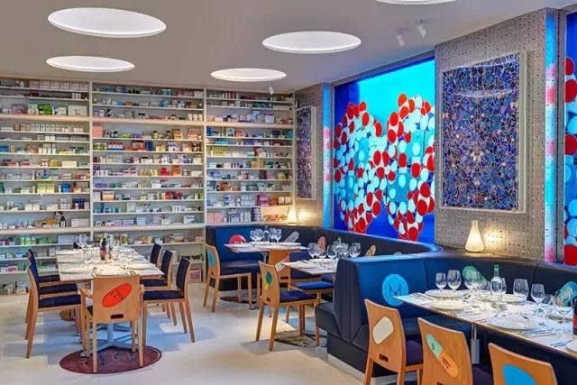 年 初 剛 開 放 的 餐 廳 「 藥 房 2 」。