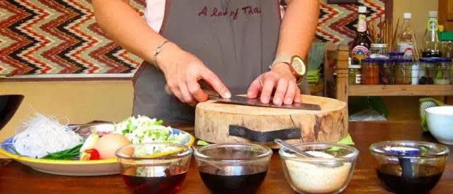 廚 藝 課 程 。