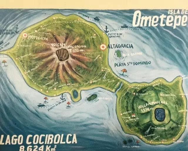 火 山 地 理 位 置 。