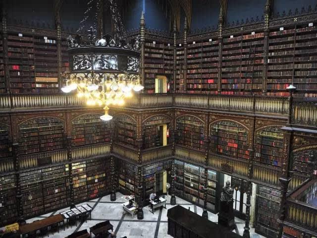 皇家葡萄牙語閱覽室