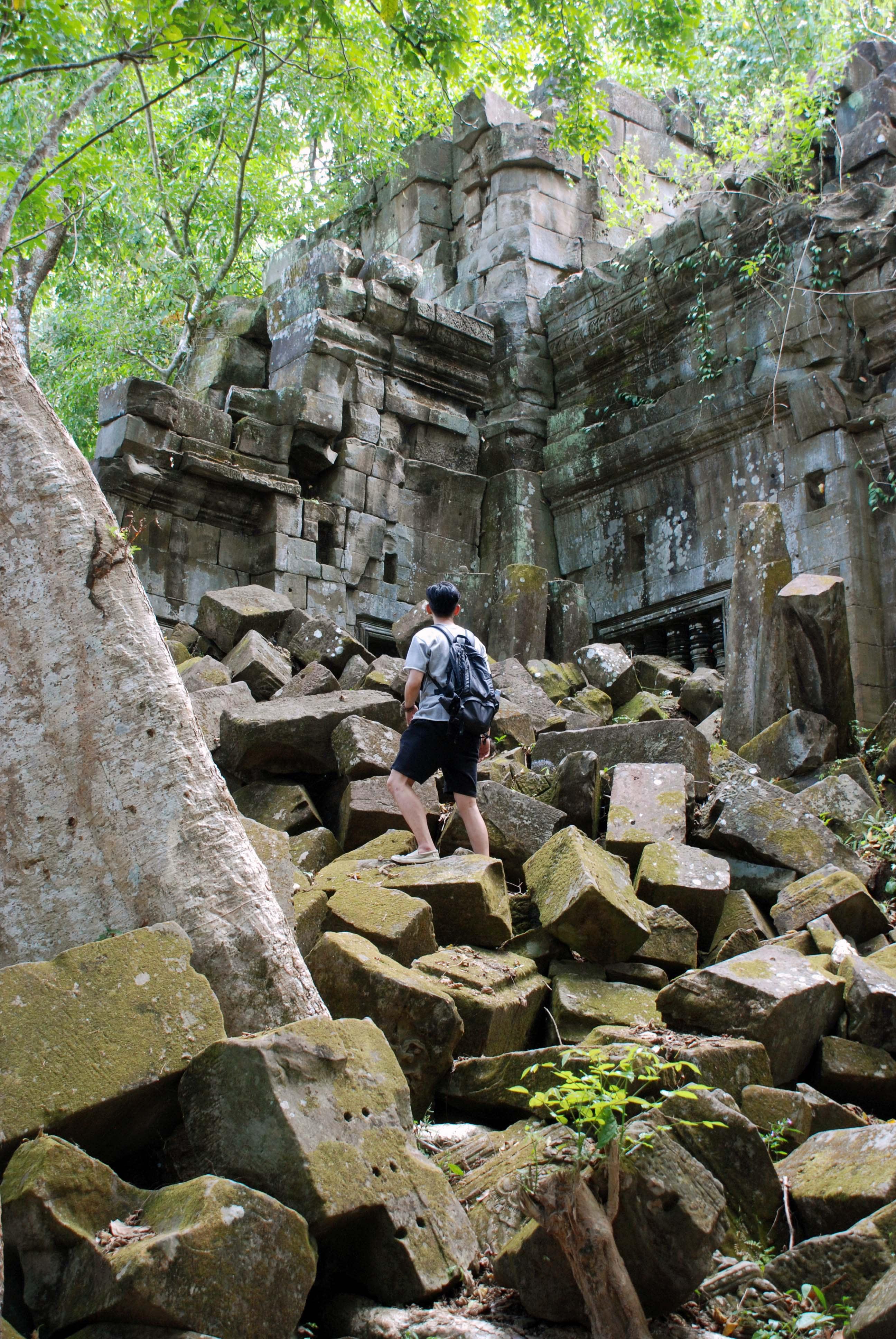保留原始樣貌的崩密列Beng Mealea,特別的歷史感如穿越時空,推薦五星此生必去 (Photo / Ran)