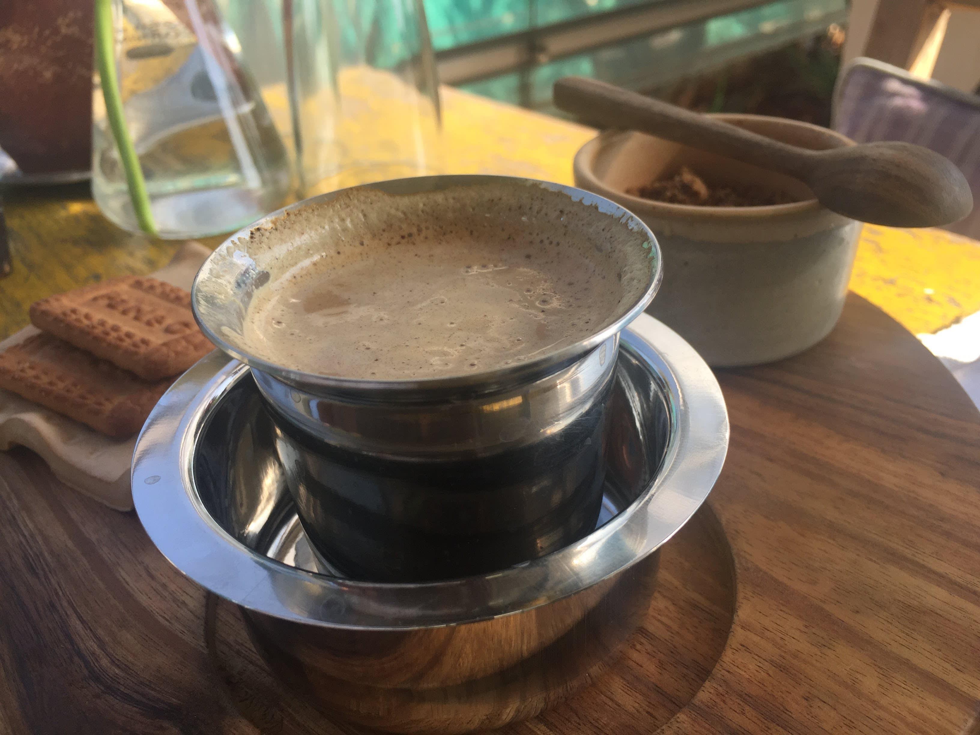 印度風味黑咖啡。 Photographer | Zach Huang