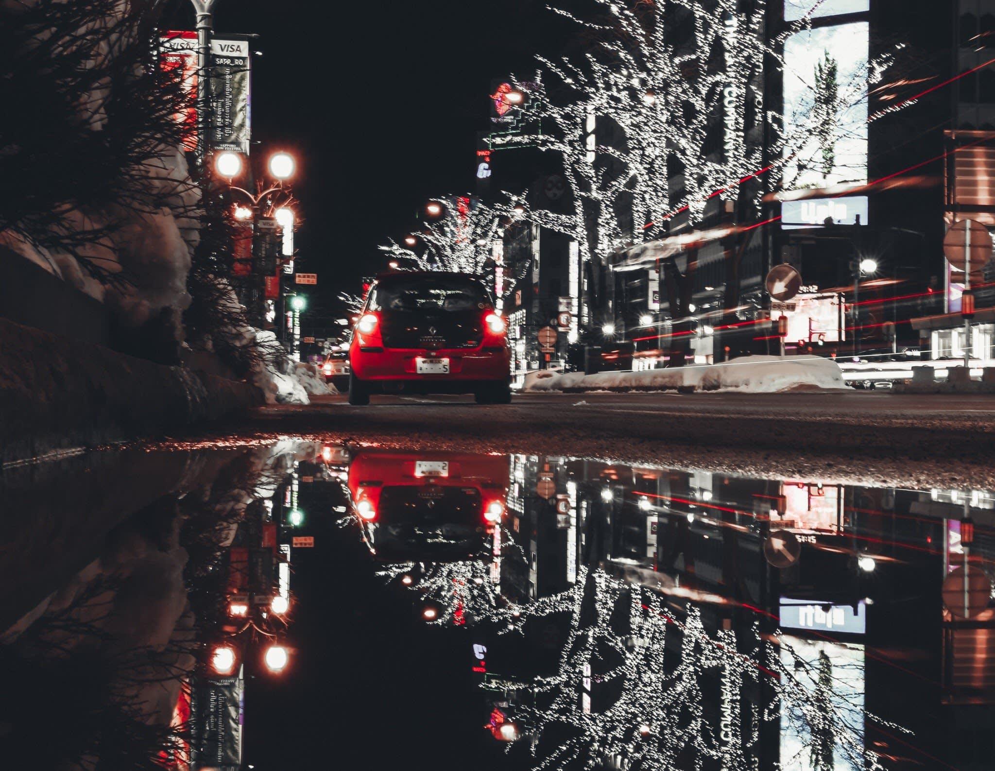 札幌薄野 。 Photographer|Zach Huang