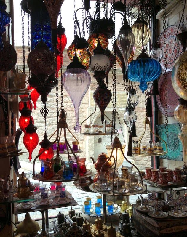土耳其傳統燈飾充滿異國風情 Pic/Facebook: TraveLinArt2017