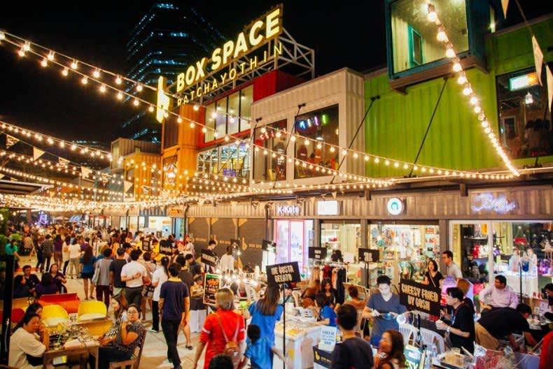 Box Space 泰 國文 創 市 集 療 癒 單 身 的 心 ( 圖 片 來 源 :goo.gl/m9vhoH)