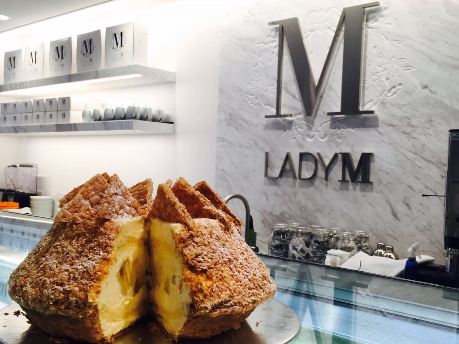 Lady M台灣旗艦店 2月27日盛大開幕。