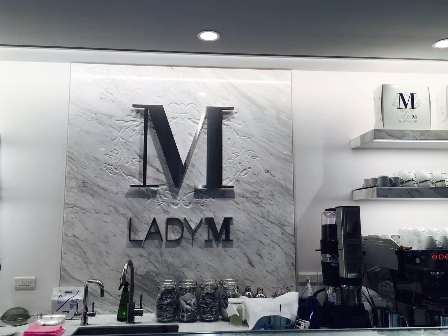 Lady M吧台。