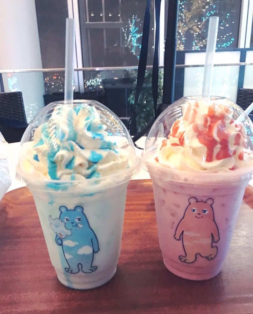 阿 倍 野 熊 的 飲 料 杯 好 可 愛 呀