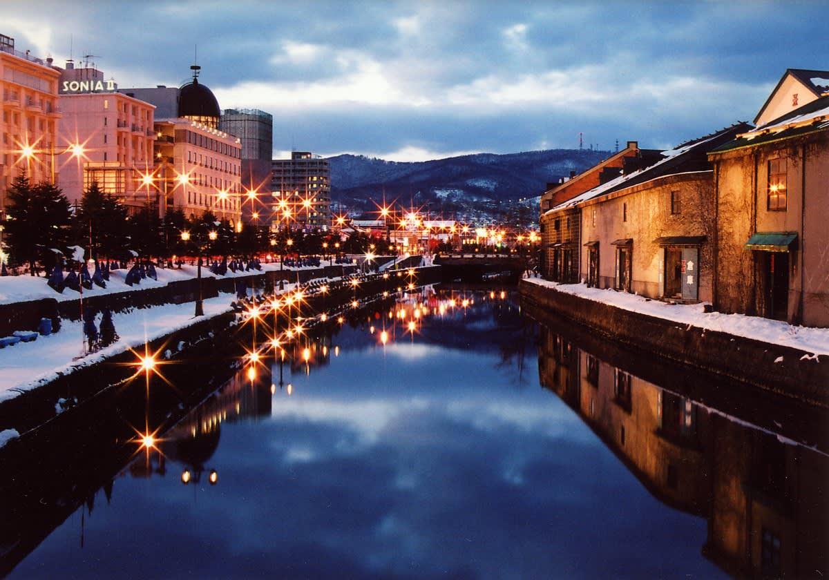 小 樽 運 河 曾 經 是 商 業 重 鎮