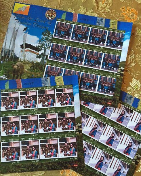 客 製 郵 票 。