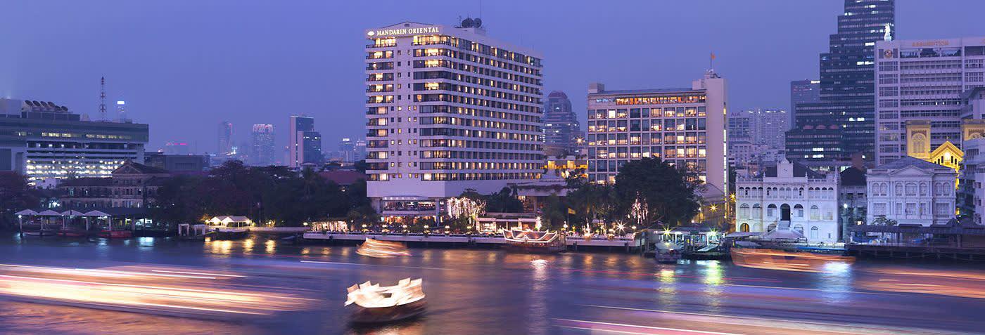 圖片來源:曼谷東方文華酒店官網