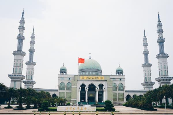 大 清 真 寺 。