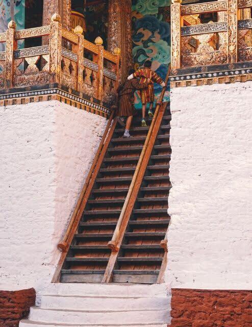 不丹寺廟。