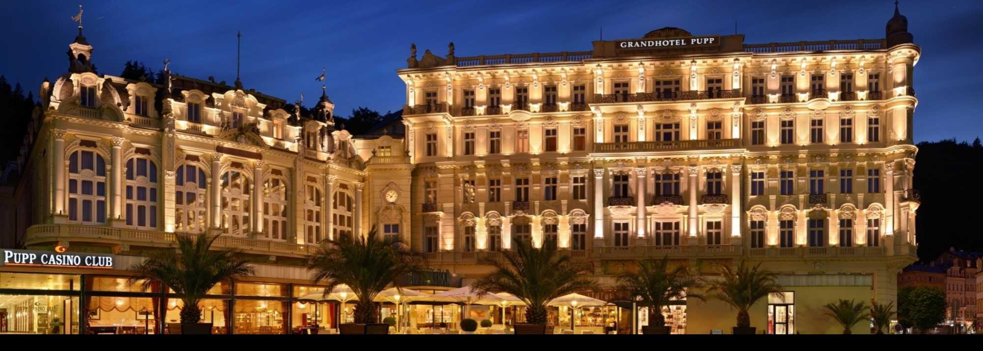 布達佩斯大飯店的參考範本之一Grandhotel Pupp(照片來源:Grandhotel Pupp https://goo.gl/bdHxLU)