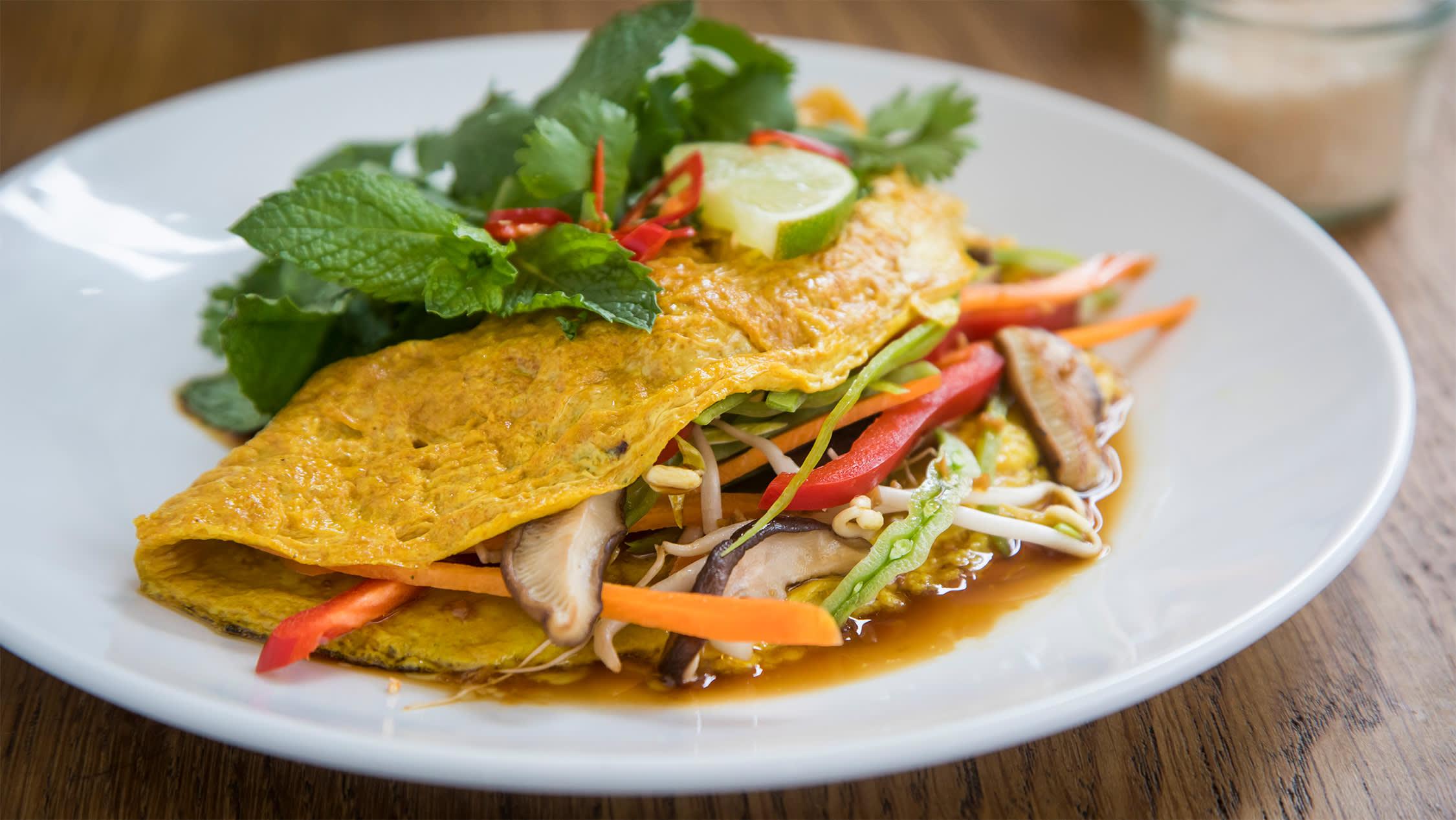 EFS Omelette 蔬菜歐姆蛋 @ Earth Food Store