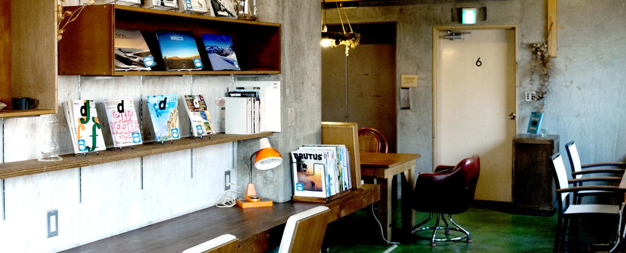 公共閱讀空間/ Photo:Nui. Hostel & Bar Lounge