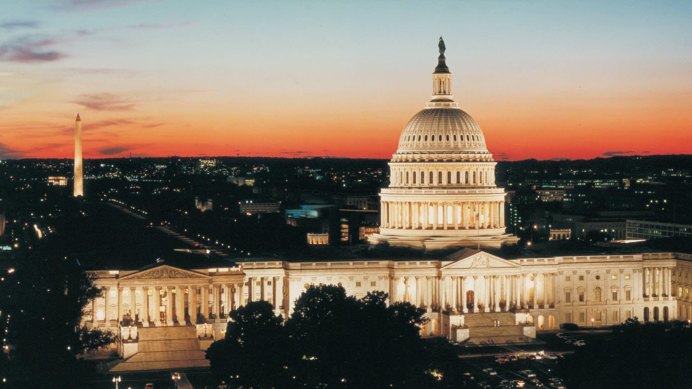 位 在 華 盛 頓 特 區 的 白 宮