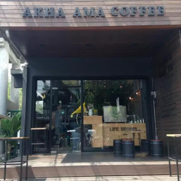 Akha Ama Coffee。