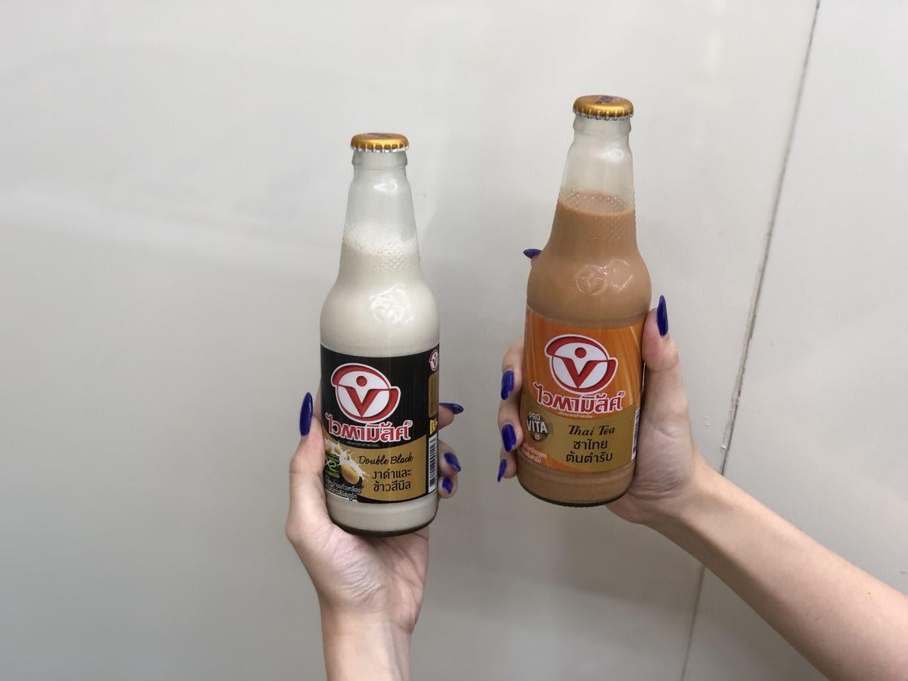 thai milk tea soy milk