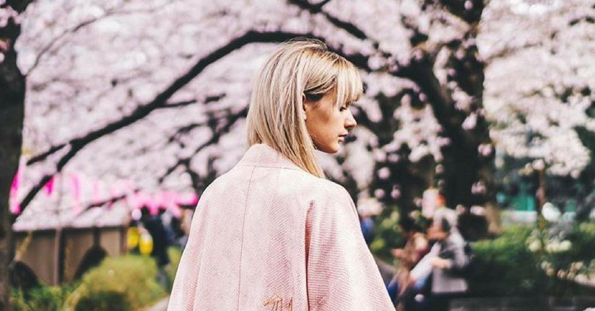 instagram worthy cherry blossom spot