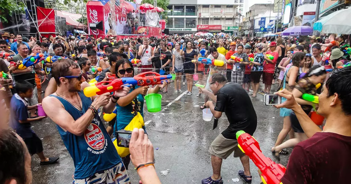 You're Guaranteed A Soaking Good Time At Songkran Festival Thailand 2019