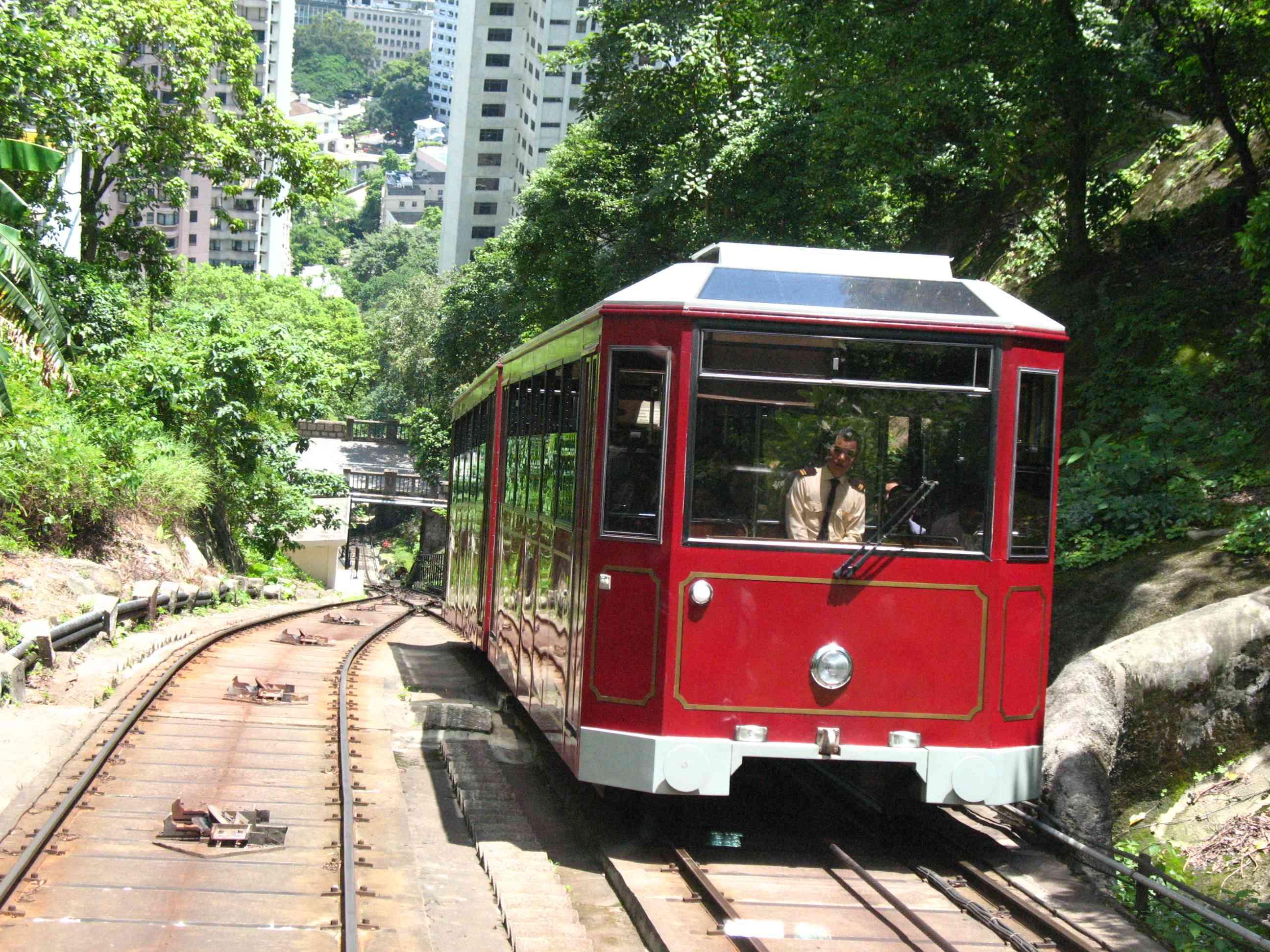 Peak Tram Tour