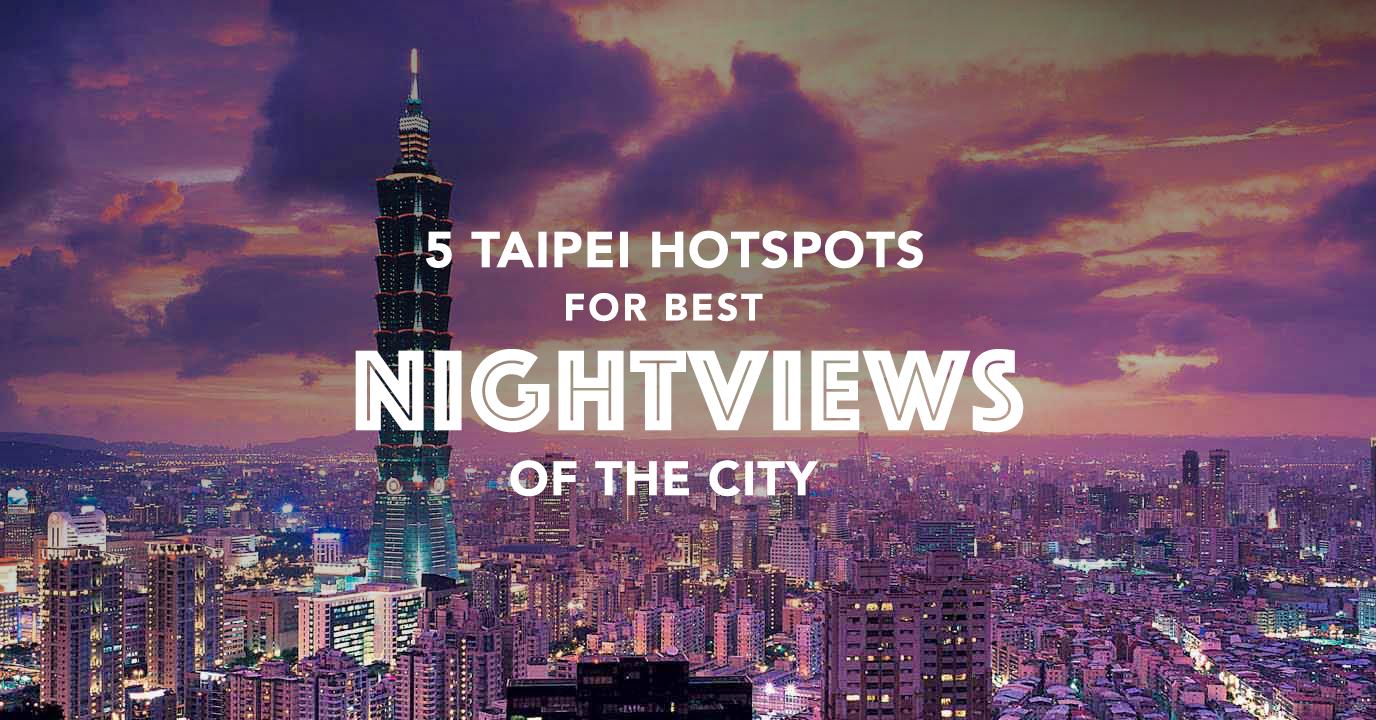 5 taipei hotspots cover