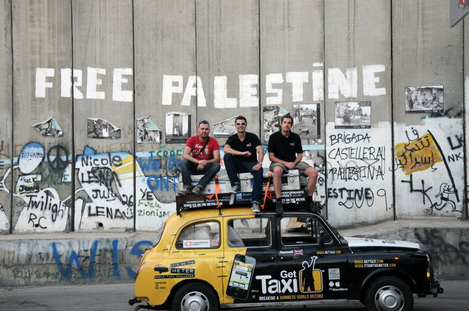 Get Taxi Hannah and the team with in the West Bank