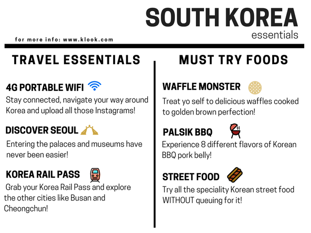 How-To-Make-The-Most-Out-Of-Your-Trip-To-South-Korea-essentials