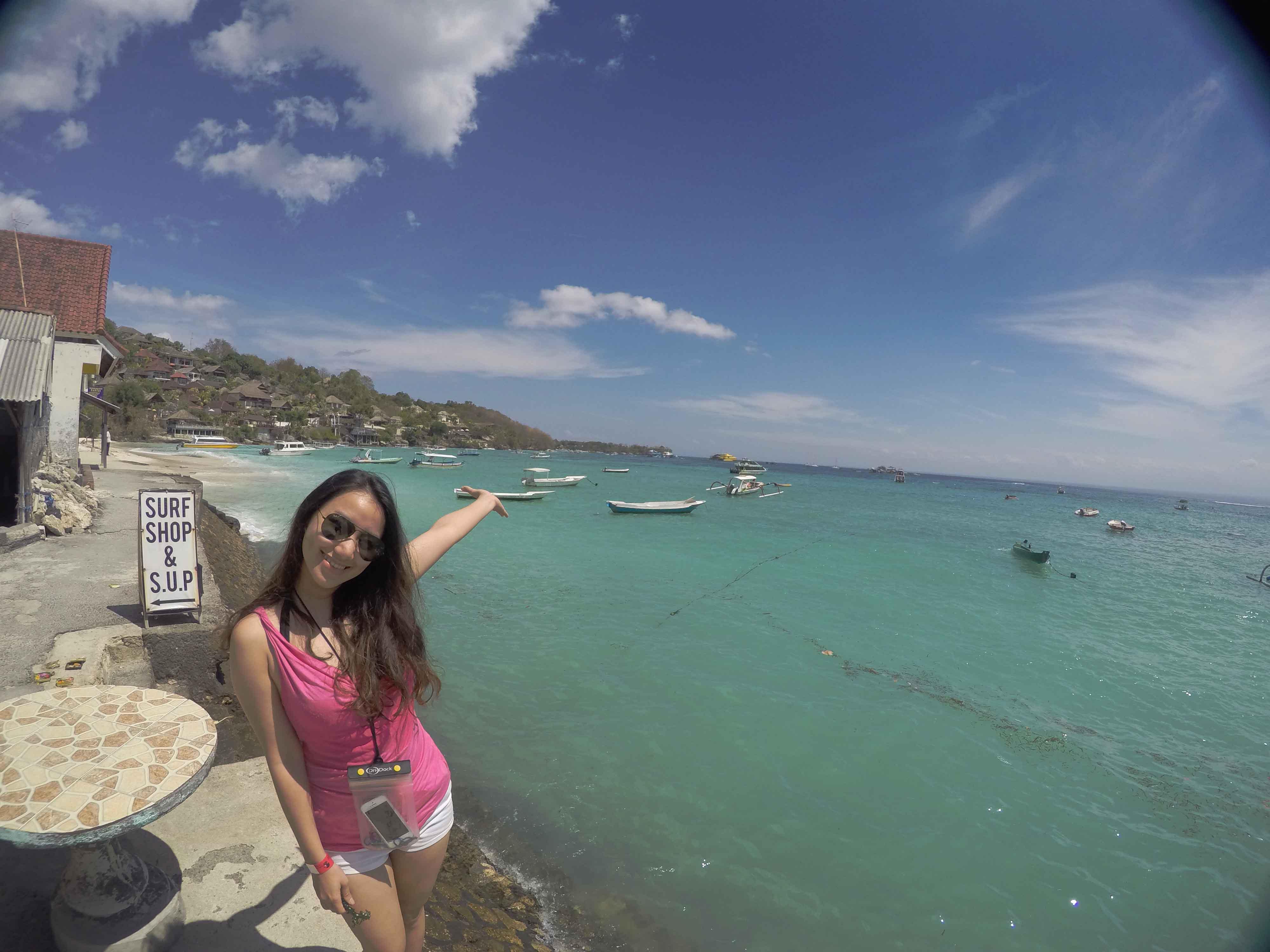 Nusa Lembongan walking tour