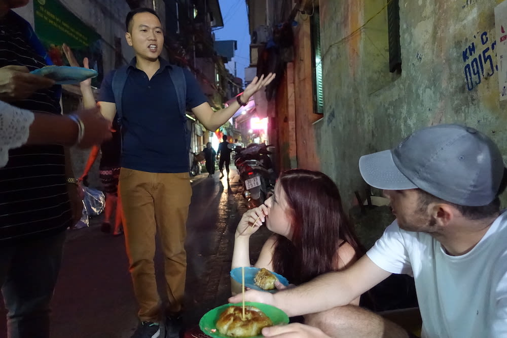 Guided Food Tour Hanoi