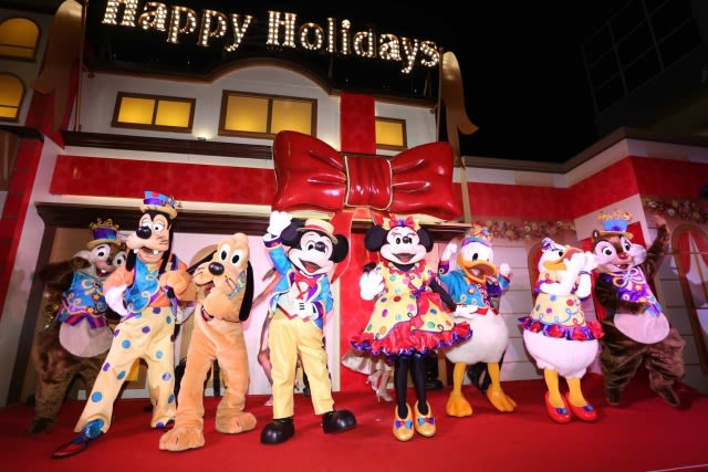 Hong Kong Disney Christmas