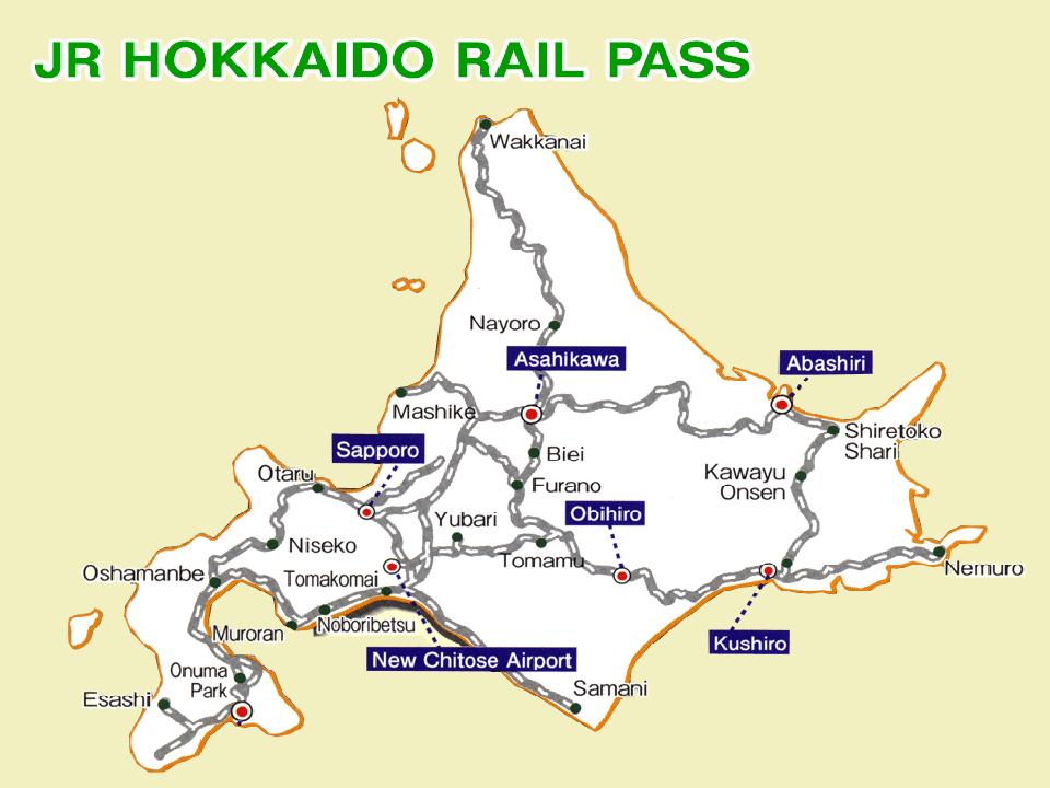 How To Use Your Japan Rail Pass: Hokkaido - KLOOK