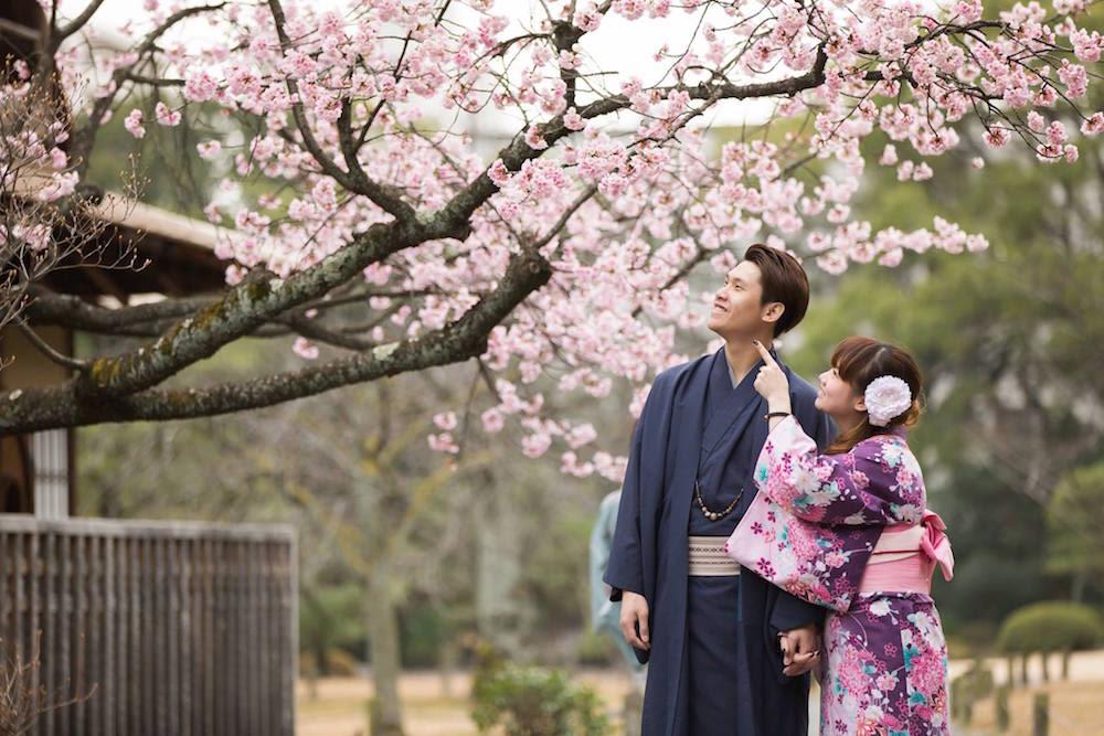 Cherry Blossom Kimono Experience
