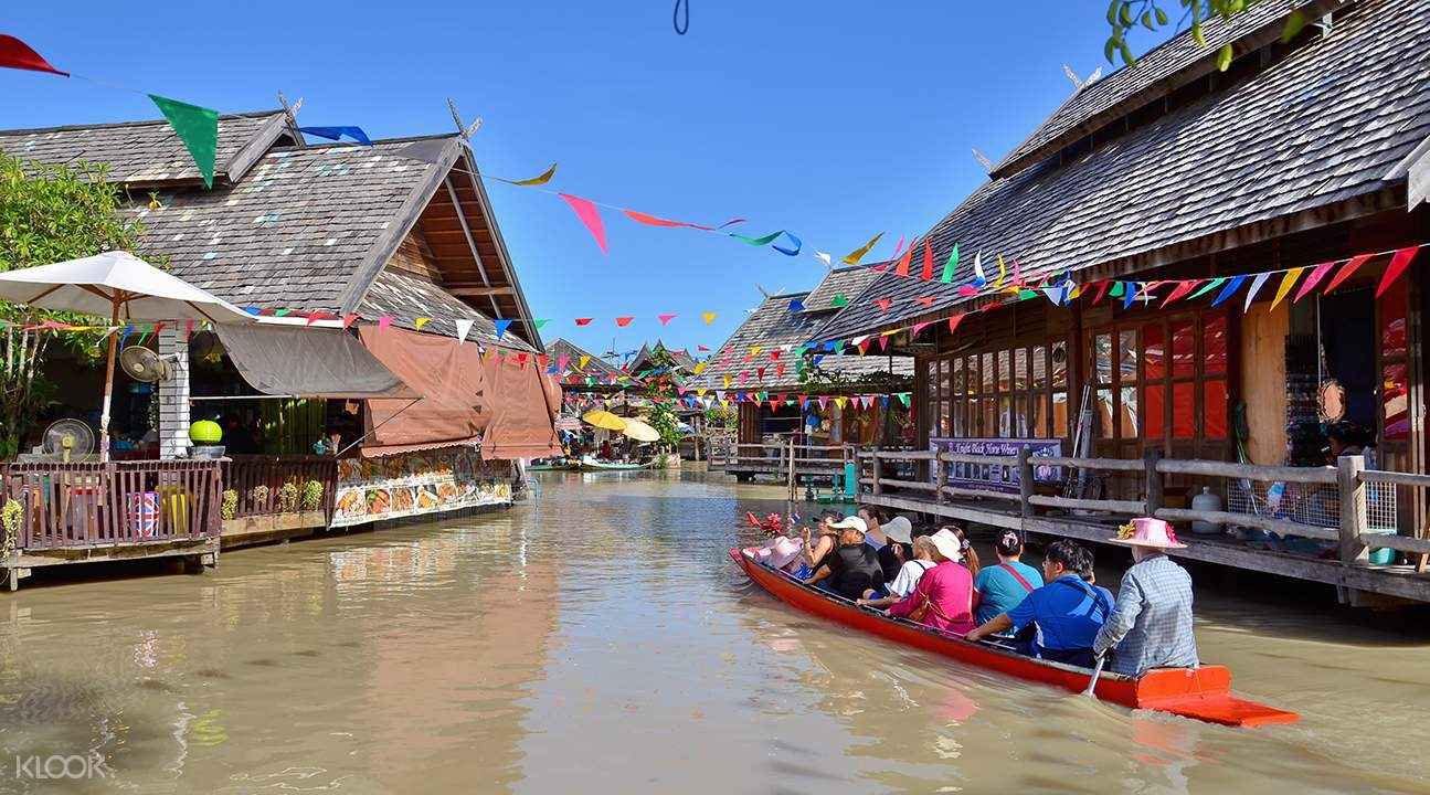 How-To-Enjoy-A-Klook-It-Yourself-Holiday-In-Pattaya-floating-market