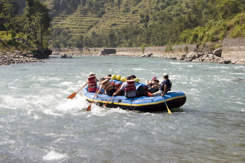 White Water Rafting Trisuli River