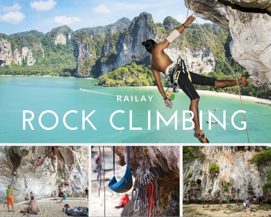 railay rock climb