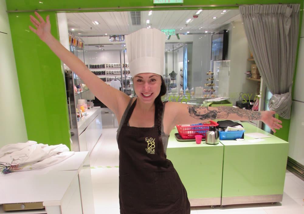 Sarah Richard Dim Sum Cooking Class
