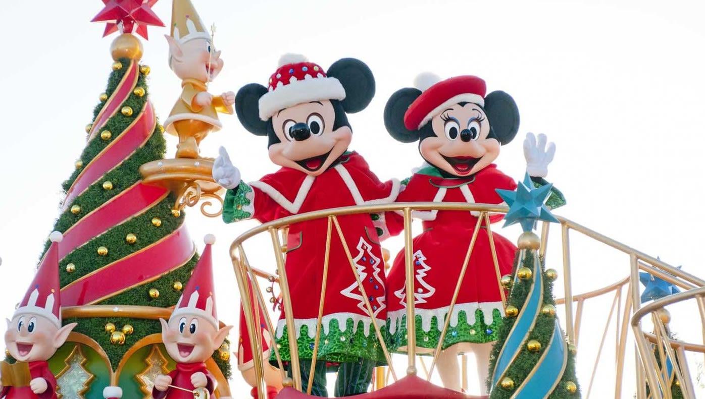 Tokyo-disneyland christmas