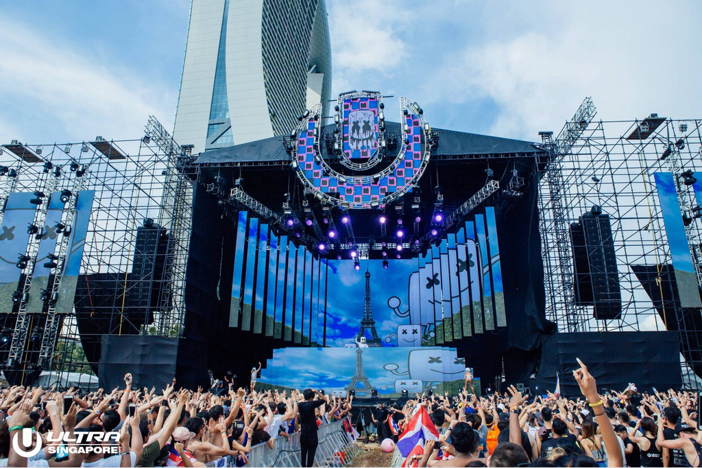 Main stage at ULTRA Singapore 2017