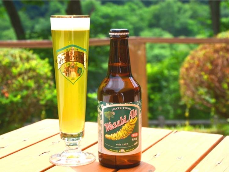 Wasabi beer