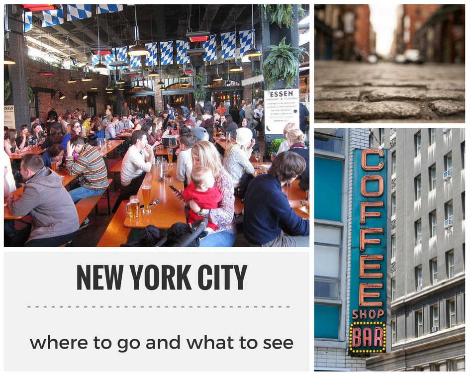 Where to go in NYC