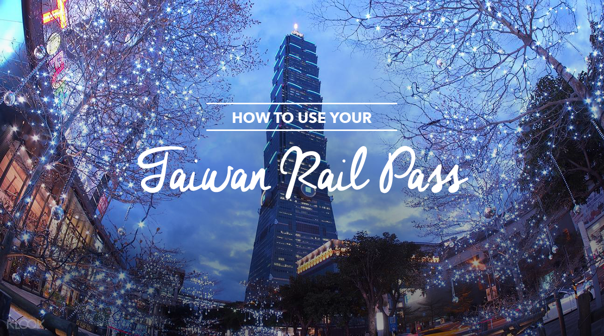 Taiwan Rail Pass Cover Image