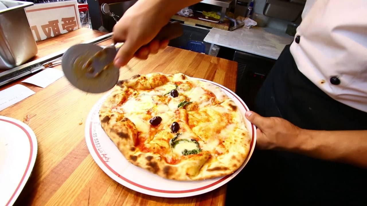 Pizza at the Sapporo Autumn Festival