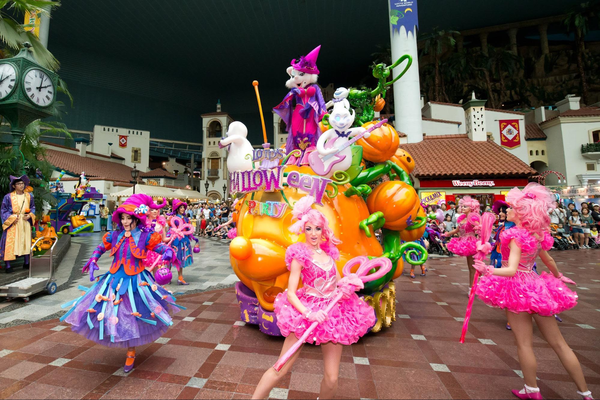 Lotte World parade