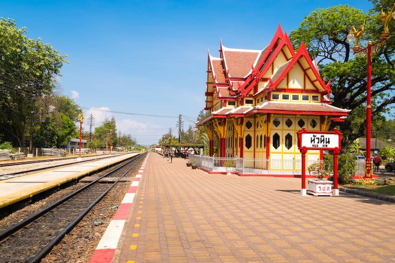 Hua-Hin-Car-Charter-Railway-Station