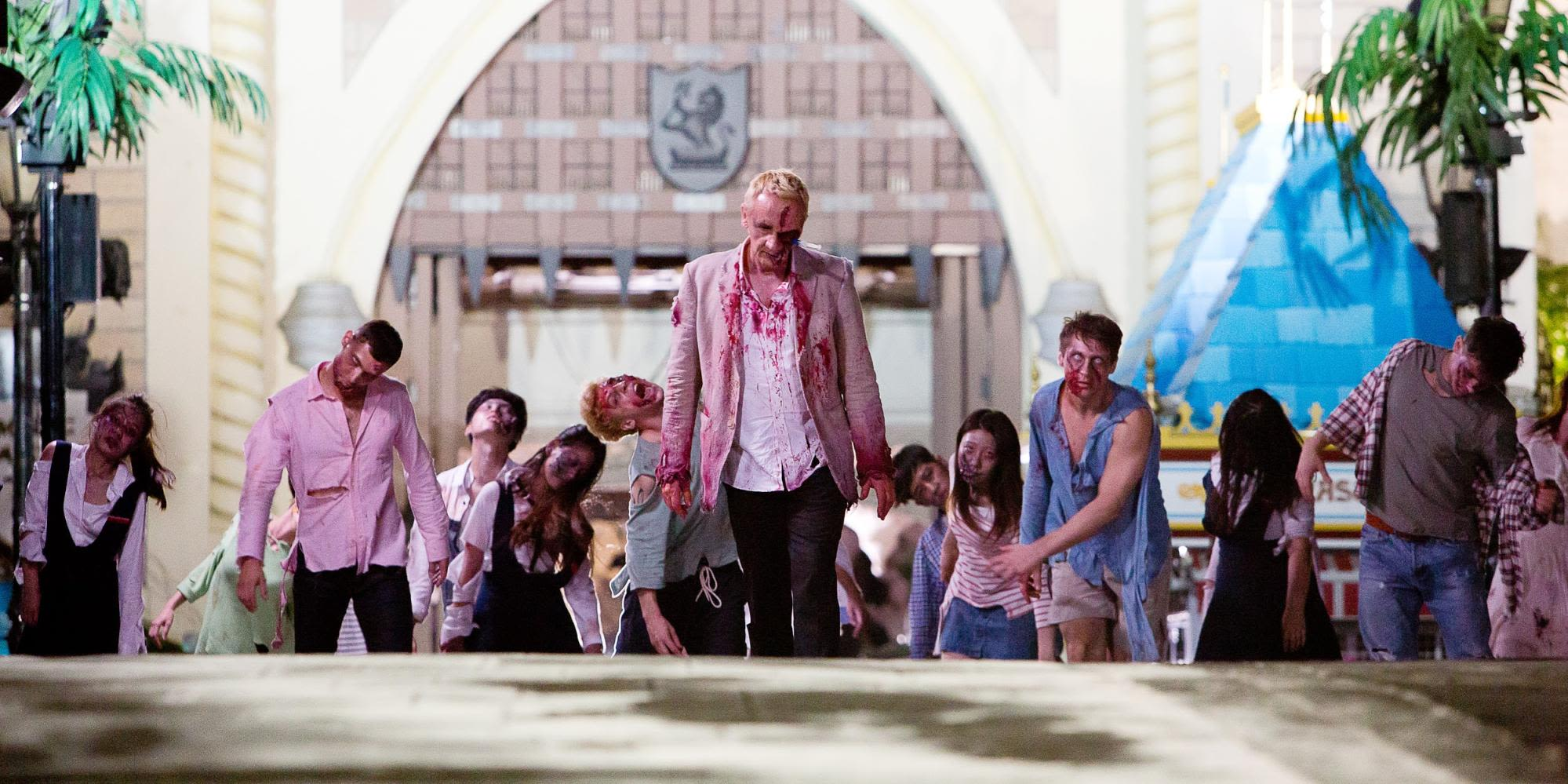 Zombies taking over Lotte World